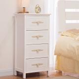 家逸床头柜实木斗柜收纳柜现代简约储物柜子整装