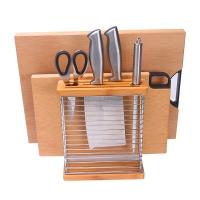双枪 (Suncha) 不锈铁艺刀架砧板架子厨房置物架收纳架 DJ3101