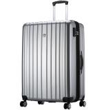 爱华仕(OIWAS)飞机轮密码锁拉杆箱6182 商务出差旅行箱 行李箱男女大容量28英寸灰色