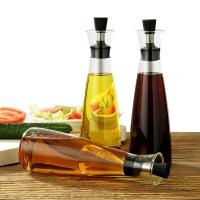 巧阿婆 油壶油醋瓶调料瓶罐防漏油瓶厨房家用创意玻璃酱油瓶单个装