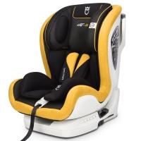 安默凯尔 汽车儿童安全座椅isofix硬接口 9个月-12岁宝宝座椅 赛道勇士gt2 柠檬黄