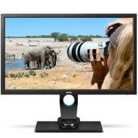 明基(BenQ)SW2700PT 27英寸IPS廣視角2K分辨率99%AdobeRGB色域 專業攝影電腦顯示器顯示屏