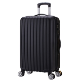 博兿(BOYI)萬向輪拉桿箱28英寸男女士旅行箱輕盈行李箱 BY-72005黑色