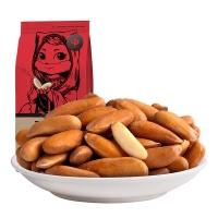 三只松鼠坚果炒货休闲零食巴西手剥松子125g/袋
