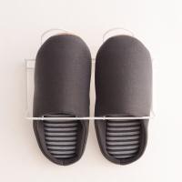 御乐 情侣款居家软底室内卧室地板静音棉拖鞋男女 YT5802 深灰 男款均码