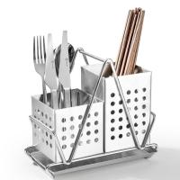 维艾(Newair)304不锈钢筷子筒筷笼沥水置物架加厚筷子笼厨房用品
