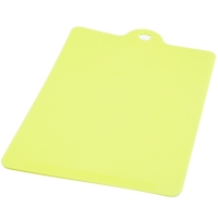 INOMATA 進口塑料軟砧板可懸掛薄切菜板水果案板 綠色