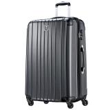 瑞動(SWISSMOBILITY)拉桿箱28英寸行李箱 洲際旅行箱輕盈大容量靜音萬向輪男女 5556黑色