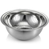 戴德(Daeden)不锈钢碗盆 洗菜盆淘米盆两件套 DP030