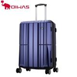 愛華仕(OIWAS)PC拉桿箱6176 時尚萬向輪行李箱 飛機輪旅行箱商務出差登機箱 20英寸藍色