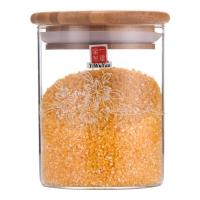 一屋窑 玻璃储物罐 茶叶罐玻璃密封罐 可储存花草茶豆类 670ml FH-905M