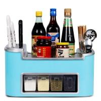 拜杰(Baijie)厨房置物架多功能落地调味料架子砧板刀架厨具用品收纳壁挂 颜色随机
