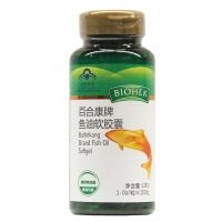 百合康牌魚油軟膠囊,1.0gx100粒