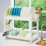 宝优妮碗架沥水架厨房置物架碗筷筷子筒收纳架刀架刀座碗碟架DQ1301-1