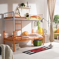 佐盛学生公寓床高低床铁架床上下铺床免螺丝双层床成人床带床板