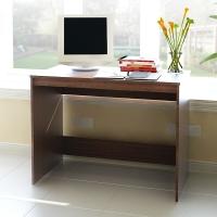 慧乐家 电脑桌 泊雅特电脑书桌 台式桌办公桌学习桌 胡桃木色 11080-1