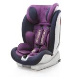 安默凯尔 汽车儿童安全座椅isofix硬接口 9个月-12岁宝宝座椅 超级盾 麦吉塔紫