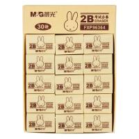晨光(M&G)文具米菲系列2B学生美术考试绘图橡皮擦 30块装FXP96364