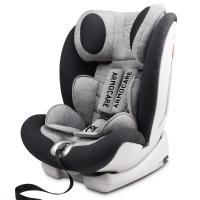 安默凯尔 汽车儿童安全座椅isofix硬接口 9个月-12岁宝宝座椅 超级盾 星空灰