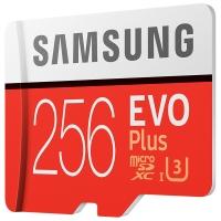 三星(SAMSUNG)256GB TF(MicroSD)存储卡 U3 4K EVO升级版+ 读速100MB/s 写速90MB/s 完美释放设备潜能