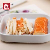 韩国进口 客唻美 即食蟹棒手撕蟹柳 寿司专用火锅食材 泡面搭档蟹味棒 90g