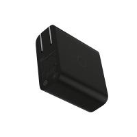 ZMI紫米65W快充头支持QC3.0 PD2.0双口MAX 3.6A适配器充电器线支持小米笔记本适用于安卓苹果手机黑色套装