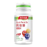钙铁锌咀嚼片,90g(1.5g/片×60片)