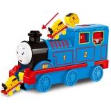 宝乐星 儿童玩具车 大号早教拖马斯火车轨道系列可收纳带小火车套装 男孩玩具礼物