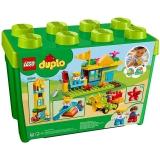 樂高(LEGO)積木 得寶DUPLO我的游樂場創意積木盒2-5歲 10864 早教玩具 男孩女孩生日禮物 大顆粒