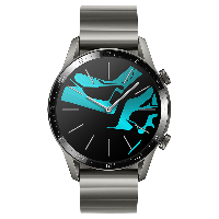 HUAWEI WATCH GT2(46mm)钛银灰 华为智能手表(两周续航+高清彩屏+蓝牙通话+麒麟芯片+心脏健康监测)