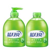 蓝月亮 芦荟抑菌洗手液(500g瓶+500g瓶装补充装)  12组/箱