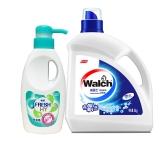 威露士(Walch)多效 洗衣液 3kg +卫新内衣净索菲亚玫瑰300g
