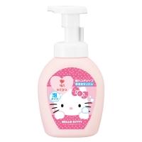 亲皙(ARAU)Hello Kitty 儿童泡沫洗手液300ml 植物配方天然温和 (莎罗雅saraya)[日本原装进口]