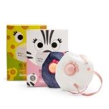 霍尼韦尔(Honeywell)口罩 H950V-G10靓呼吸萌宠版女孩 10只/盒两色 KN95防尘防颗粒物折叠式防雾霾口罩