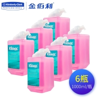 舒洁 泡沫洗手液瓶装泡沫滋润91552 1000ml* 6瓶/箱