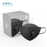LIFAair LM98D 带阀防护口罩 折叠耳带式防雾霾防沙尘 (10只装)
