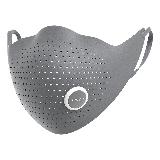 AIRPOP 小米生态链 超纤时尚PM2.5防尘防雾霾防花粉冬季保暖时尚运动口罩 男女款 格调灰