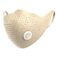 AIRPOP 小米生态链 超纤时尚PM2.5防尘防雾霾防花粉冬季保暖时尚运动口罩 男女款 自然米