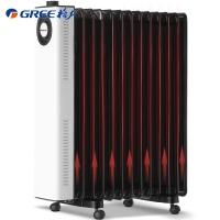 格力 (GREE)取暖器/电暖器/电暖气片家用 13片宽片电热油汀/节省空间 静音速热 NDY23-X6022