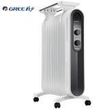 格力(GREE)取暖器 /电暖器/电暖气片家用 13片静音速热电油汀电暖器片NDY18-X6121