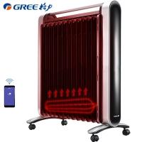 格力(GREE)取暖器/电暖器/电热暖气片 家用13片电热油汀小京鱼APP控制/触摸操作/遥控/WIFI NDY16-X6026Bb