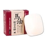 日本原裝進口          奈逸洛柯馬油香皂,80g