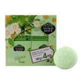 爱敬 橄榄绿茶香皂  ,100g*4