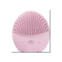 皮肤滑滑的秘密 电动式硅胶净透声波洁面仪樱花粉