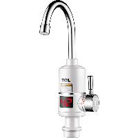 TCL  TDR-30AX02 电热水龙头 过水热快热速热厨房宝 数显加热小厨宝 即热式电热水器 下进水