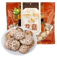 禾煜 花菇300g (无根肉厚有裂纹  菌菇香菇  特产食用菌  南北干货 煲汤食材)