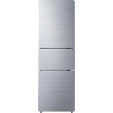 TCL 205升 三门电冰箱 中门宽幅变温 小型冰箱 节能养鲜 冰箱小型便捷 环保内胆(星空银) BCD-205TF1