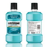 李施德林 (Listerine) 漱口水 冰藍勁爽口味含酒精 500mL(新老包裝隨機發貨)