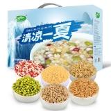 十月稻田  6种杂粮礼盒( 红豆薏仁、荞麦、绿豆、黄小米、燕麦、糙米 礼物400g*6)2.4kg