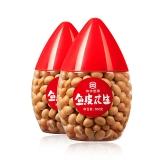 如水 坚果炒货 童年怀旧休闲零食 鱼皮花生豆500g